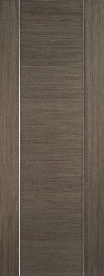 Chocolate Grey Alcaraz Fire Door